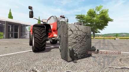 Adaptador para manipulador telescópico para Farming Simulator 2017