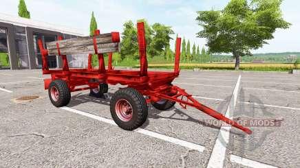 Madeira reboque Krone para Farming Simulator 2017