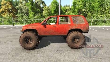 Jeep Grand Cherokee 1994 trail v1.1 para BeamNG Drive