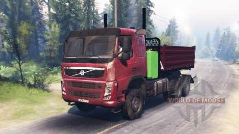 Volvo FM para Spin Tires