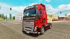 Demônio Crânio pele para a Volvo caminhões