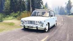 VAZ 2101 Zhiguli para Spin Tires