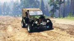 GAZ 69 Expedição para Spin Tires