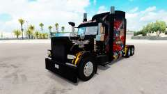 Lenda americana pele para o caminhão Peterbilt 3