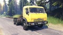 KamAZ 54115 v5.0 para Spin Tires
