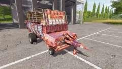 POTTINGER EUROBOSS 330 T rusty para Farming Simulator 2017