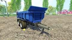 Hilken HI 2250 SMK blue para Farming Simulator 2015
