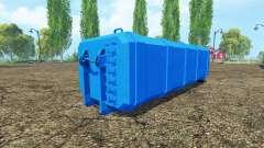 ITRunner Cistern water milk fuel para Farming Simulator 2015