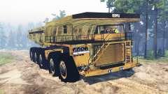 Caminhão de mineração 10x10