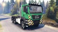 MAN TGS 26.480 v2.0 para Spin Tires