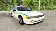 Gavril Grand Marshall Global Police v1.17 para BeamNG Drive