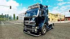 Resumo o Efeito de pele para a Volvo caminhões