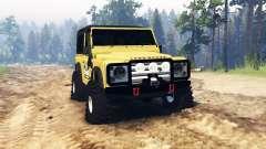 Land Rover Defender 90 para Spin Tires