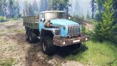 Ural 4320-10 v4.0 para Spin Tires