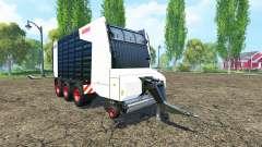 CLAAS Cargos 9500 black para Farming Simulator 2015