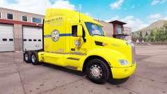 Pele Los. Hermanos caminhão em um Peterbilt 579 para American Truck Simulator