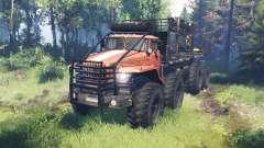 Ural 4320 Explorador Polar v18.0 para Spin Tires