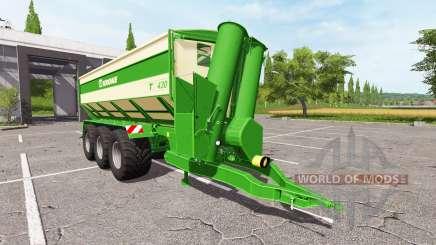 Krone TX 430 v1.0.1 para Farming Simulator 2017