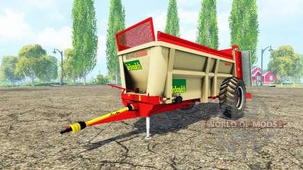 LeBoulch Maxi HVS 417 para Farming Simulator 2015
