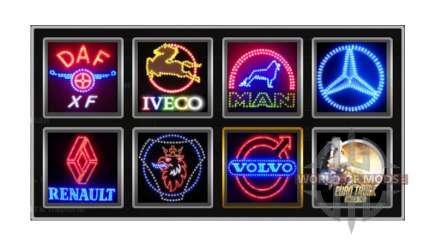 Logotipos da empresa v1.2 para Euro Truck Simulator 2