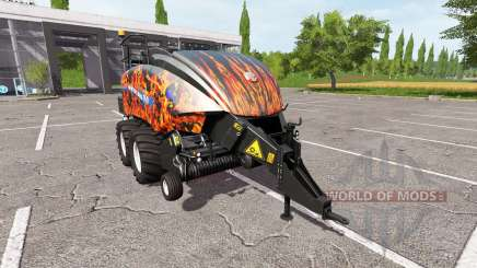 New Holland BigBaler 1290 flame para Farming Simulator 2017
