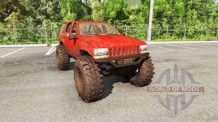 Jeep Grand Cherokee 1994 trail v1.1 para BeamNG Drive