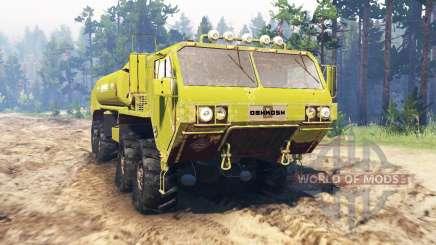 Oshkosh HEMTT M977EX para Spin Tires