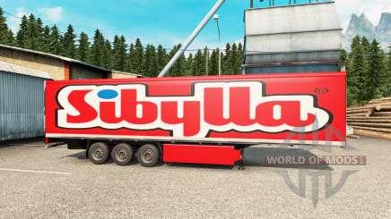 Peles no trailer para Euro Truck Simulator 2