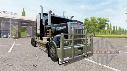 Kenworth T908 black para Farming Simulator 2017