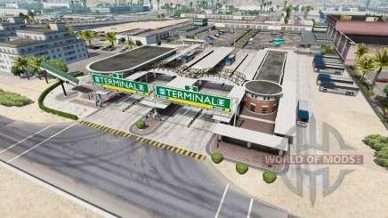 Estações de ônibus para American Truck Simulator