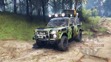 VAZ 2121 Niva Expedição v3.0 para Spin Tires