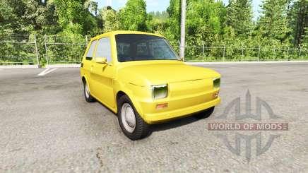 Fiat 126p para BeamNG Drive