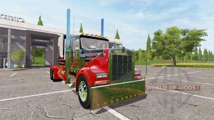 Kenworth W900 reworked para Farming Simulator 2017