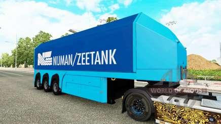 Uma coleção de skins para o semi-Steklova para Euro Truck Simulator 2