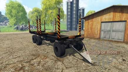 Madeira trailer para Farming Simulator 2015