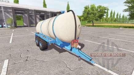 O reboque cisterna para estrume líquido para Farming Simulator 2017