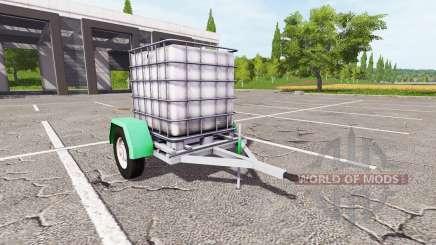 A carreta com tanque de água para Farming Simulator 2017