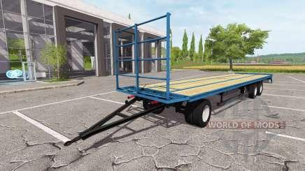 O trailer-plataforma para Farming Simulator 2017