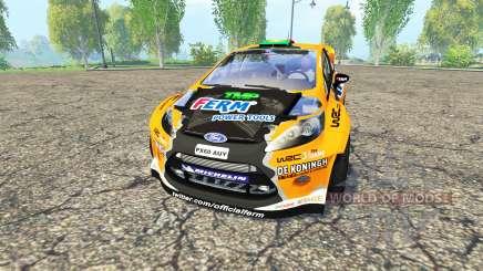 Ford Fiesta RS WRC para Farming Simulator 2015