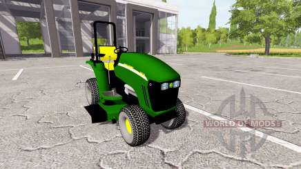 John Deere 3520 mower para Farming Simulator 2017