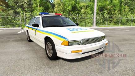 Gavril Grand Marshall Global Police v1.17 para BeamNG Drive