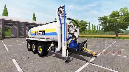 Bossini B200 blue v4.0 para Farming Simulator 2017