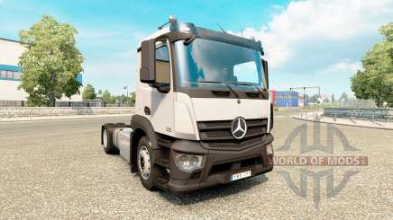 Mercedes-Benz Antos v1.1 para Euro Truck Simulator 2