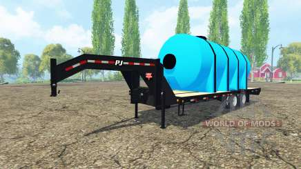 PJ Trailers fertilizer para Farming Simulator 2015