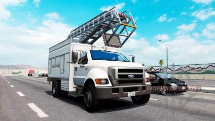 Avançada de tráfego v1.9 para American Truck Simulator