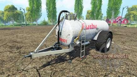 Trailer Fox para Farming Simulator 2015
