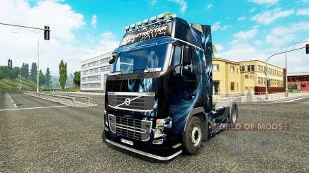 Resumo o Efeito de pele para a Volvo caminhões para Euro Truck Simulator 2