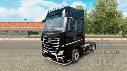Pele Brutale para trator Mercedes-Benz para Euro Truck Simulator 2