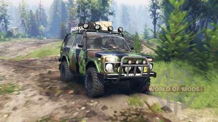 VAZ 2121 Niva Expedição v4.0 para Spin Tires