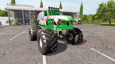 Grave Digger para Farming Simulator 2017